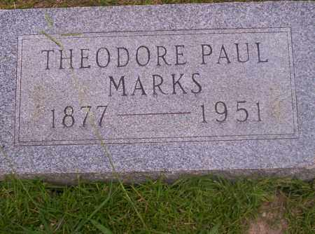 MARKS, THEODORE PAUL - Union County, Arkansas | THEODORE PAUL MARKS - Arkansas Gravestone Photos
