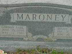 MARONEY, GORDON - Union County, Arkansas | GORDON MARONEY - Arkansas Gravestone Photos
