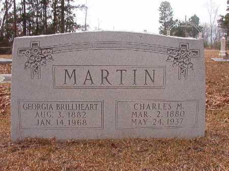 BRILLHEART MARTIN, GEORGIA - Union County, Arkansas | GEORGIA BRILLHEART MARTIN - Arkansas Gravestone Photos