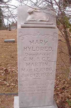 MARTIN, MARY HYLDRED - Union County, Arkansas | MARY HYLDRED MARTIN - Arkansas Gravestone Photos