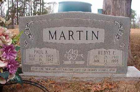 MARTIN, PAUL K - Union County, Arkansas | PAUL K MARTIN - Arkansas Gravestone Photos