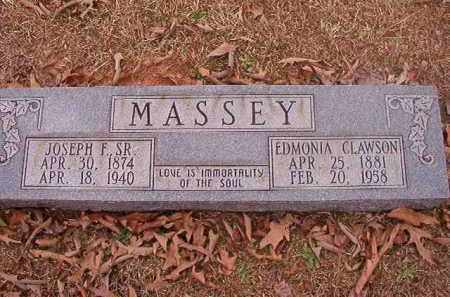 MASSEY, SR, JOSEPH F - Union County, Arkansas | JOSEPH F MASSEY, SR - Arkansas Gravestone Photos