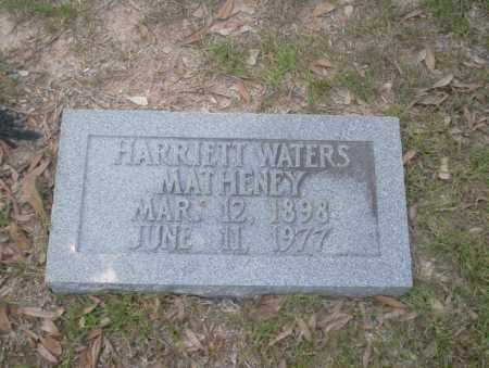 MATHENEY, HARRIETT - Union County, Arkansas | HARRIETT MATHENEY - Arkansas Gravestone Photos