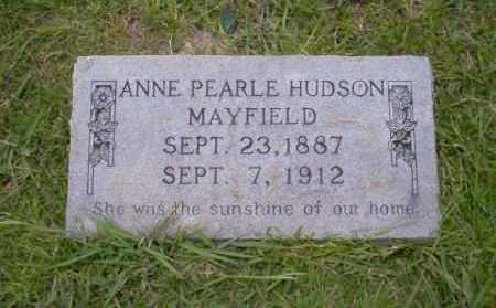 MAYFIELD, ANNE PEARLE - Union County, Arkansas | ANNE PEARLE MAYFIELD - Arkansas Gravestone Photos