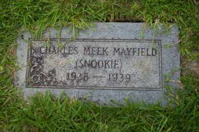 MAYFIELD, CHARLES MEEK - Union County, Arkansas | CHARLES MEEK MAYFIELD - Arkansas Gravestone Photos