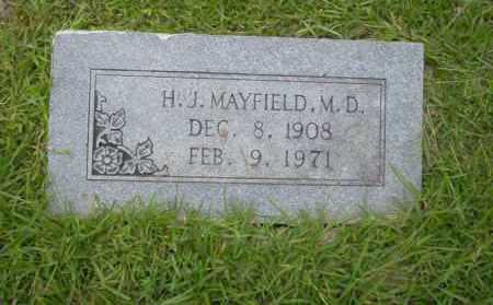 MAYFIELD, H.J. - Union County, Arkansas | H.J. MAYFIELD - Arkansas Gravestone Photos