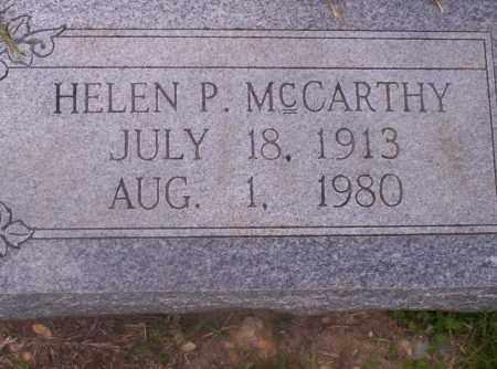MCCARTHY, HELEN P - Union County, Arkansas | HELEN P MCCARTHY - Arkansas Gravestone Photos