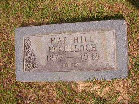 MCCULLOCH, MAE - Union County, Arkansas | MAE MCCULLOCH - Arkansas Gravestone Photos