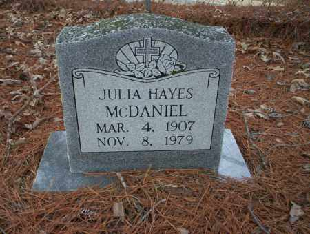 MCDANIEL, JULIA - Union County, Arkansas | JULIA MCDANIEL - Arkansas Gravestone Photos