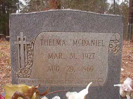 MCDANIEL, THELMA - Union County, Arkansas | THELMA MCDANIEL - Arkansas Gravestone Photos