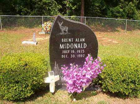 MCDONALD, BRENT ALAN - Union County, Arkansas | BRENT ALAN MCDONALD - Arkansas Gravestone Photos
