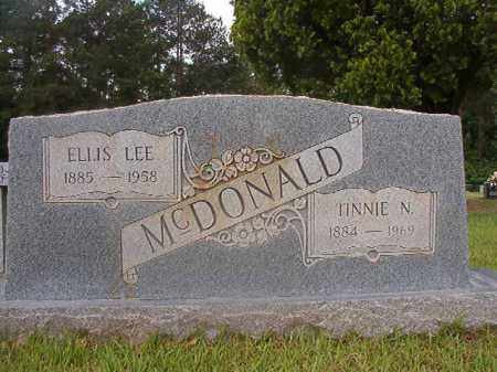 MCDONALD, ELLIS LEE - Union County, Arkansas | ELLIS LEE MCDONALD - Arkansas Gravestone Photos