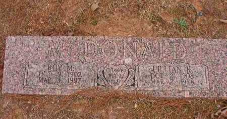 MCDONALD, LILLIAN K - Union County, Arkansas | LILLIAN K MCDONALD - Arkansas Gravestone Photos