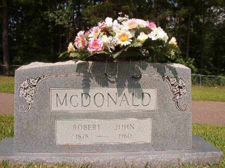 MCDONALD, ROBERT JOHN - Union County, Arkansas | ROBERT JOHN MCDONALD - Arkansas Gravestone Photos