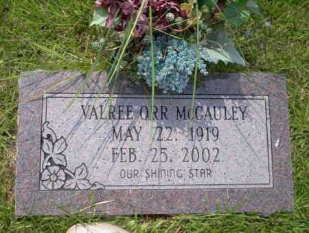 MCGAULEY, VALREE - Union County, Arkansas | VALREE MCGAULEY - Arkansas Gravestone Photos