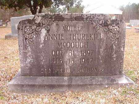 MCGOUGH, ANNIE - Union County, Arkansas | ANNIE MCGOUGH - Arkansas Gravestone Photos