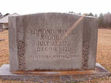 MCGOUGH, EDMOND WINFER - Union County, Arkansas | EDMOND WINFER MCGOUGH - Arkansas Gravestone Photos