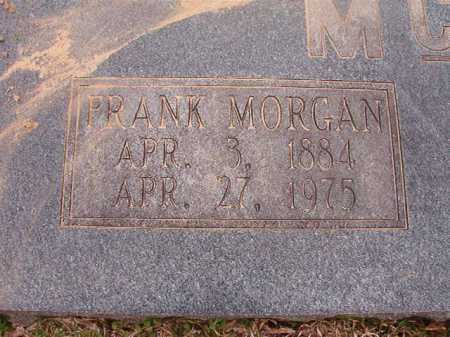 MCGOUGH, FRANK MORGAN - Union County, Arkansas | FRANK MORGAN MCGOUGH - Arkansas Gravestone Photos