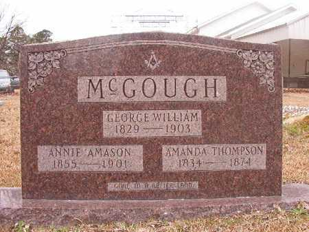 MCGOUGH, AMANDA - Union County, Arkansas | AMANDA MCGOUGH - Arkansas Gravestone Photos