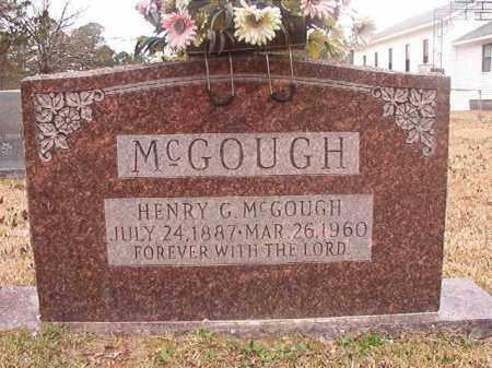 MCGOUGH, HENRY G - Union County, Arkansas | HENRY G MCGOUGH - Arkansas Gravestone Photos