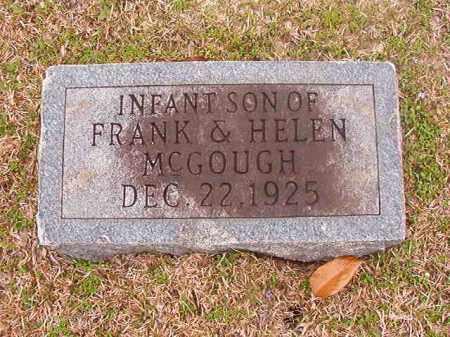 MCGOUGH, INFANT SON - Union County, Arkansas | INFANT SON MCGOUGH - Arkansas Gravestone Photos