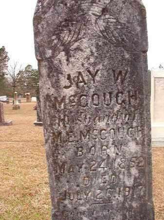 MCGOUGH, JAY W - Union County, Arkansas | JAY W MCGOUGH - Arkansas Gravestone Photos