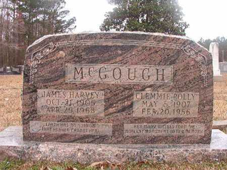 "MCGOUGH, CLEMMIE ""POLLY"" - Union County, Arkansas 