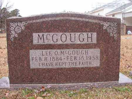 MCGOUGH, LEE O - Union County, Arkansas | LEE O MCGOUGH - Arkansas Gravestone Photos