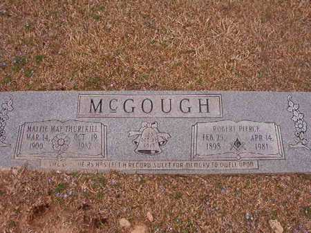 THURLKILL MCGOUGH, MATTIE MAE - Union County, Arkansas | MATTIE MAE THURLKILL MCGOUGH - Arkansas Gravestone Photos