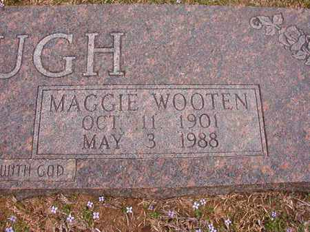 WOOTEN MCGOUGH, MAGGIE - Union County, Arkansas | MAGGIE WOOTEN MCGOUGH - Arkansas Gravestone Photos