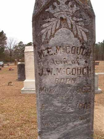 MCGOUGH, M E - Union County, Arkansas | M E MCGOUGH - Arkansas Gravestone Photos