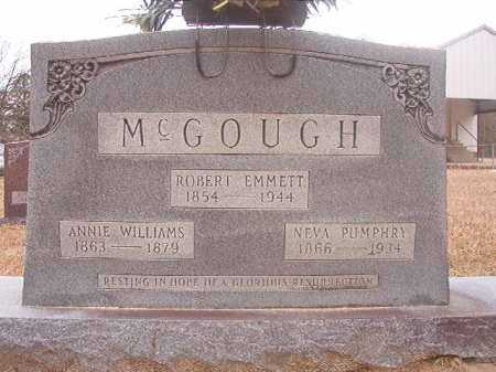 WILLIAMS MCGOUGH, ANNIE - Union County, Arkansas | ANNIE WILLIAMS MCGOUGH - Arkansas Gravestone Photos
