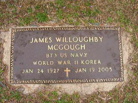 MCGOUGH (VETERAN 2 WARS), JAMES WILLOUGHBY - Union County, Arkansas | JAMES WILLOUGHBY MCGOUGH (VETERAN 2 WARS) - Arkansas Gravestone Photos