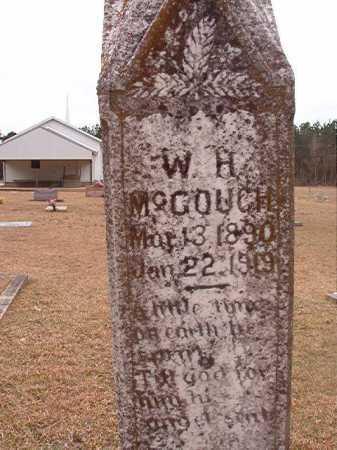 MCGOUGH, W H - Union County, Arkansas | W H MCGOUGH - Arkansas Gravestone Photos