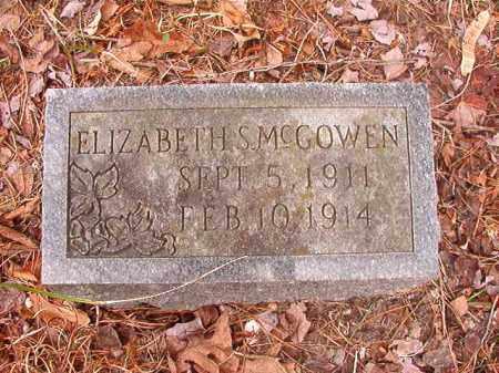 MCGOWEN, ELIZABETH S - Union County, Arkansas | ELIZABETH S MCGOWEN - Arkansas Gravestone Photos