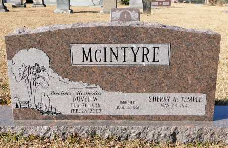 MCINTYRE, DUVEL W - Union County, Arkansas | DUVEL W MCINTYRE - Arkansas Gravestone Photos