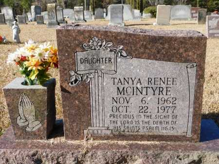 MCINTYRE, TANYA RENEE - Union County, Arkansas | TANYA RENEE MCINTYRE - Arkansas Gravestone Photos