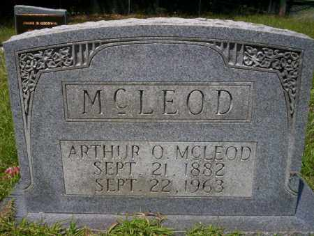 MCLEOD, ARTHUR O - Union County, Arkansas | ARTHUR O MCLEOD - Arkansas Gravestone Photos