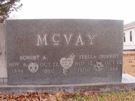 MCVAY, ROBERT A - Union County, Arkansas | ROBERT A MCVAY - Arkansas Gravestone Photos