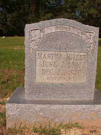MILLER, MARTHA - Union County, Arkansas | MARTHA MILLER - Arkansas Gravestone Photos