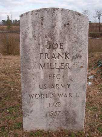 MILLER (VETERAN WWII), JOE FRANK - Union County, Arkansas | JOE FRANK MILLER (VETERAN WWII) - Arkansas Gravestone Photos