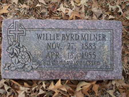 MILNER, WILLIE BYRD - Union County, Arkansas | WILLIE BYRD MILNER - Arkansas Gravestone Photos