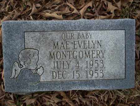 MONTGOMERY, MAE EVELYN - Union County, Arkansas | MAE EVELYN MONTGOMERY - Arkansas Gravestone Photos