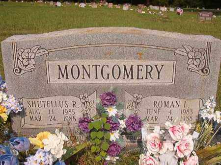 MONTGOMERY, SHUTELLUS R - Union County, Arkansas | SHUTELLUS R MONTGOMERY - Arkansas Gravestone Photos
