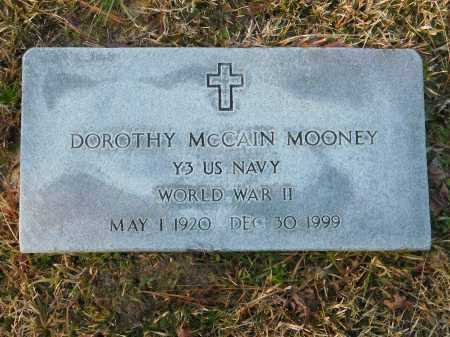 MCCAIN MOONEY (VETERAN WWII), DOROTHY - Union County, Arkansas | DOROTHY MCCAIN MOONEY (VETERAN WWII) - Arkansas Gravestone Photos