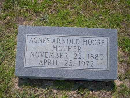 ARNOLD MOORE, AGNES - Union County, Arkansas | AGNES ARNOLD MOORE - Arkansas Gravestone Photos