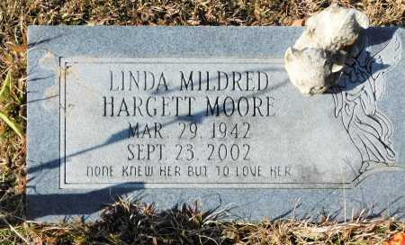HARGETT MOORE, LINDA MILDRED - Union County, Arkansas | LINDA MILDRED HARGETT MOORE - Arkansas Gravestone Photos