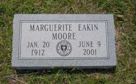 EAKIN MOORE, MARGUERITE - Union County, Arkansas | MARGUERITE EAKIN MOORE - Arkansas Gravestone Photos