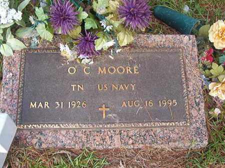 MOORE (VETERAN), O C - Union County, Arkansas | O C MOORE (VETERAN) - Arkansas Gravestone Photos