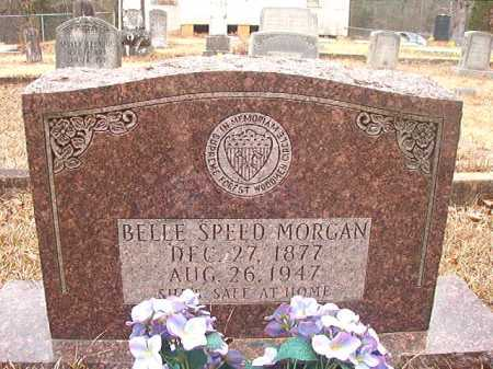 SPEED MORGAN, BELLE - Union County, Arkansas | BELLE SPEED MORGAN - Arkansas Gravestone Photos